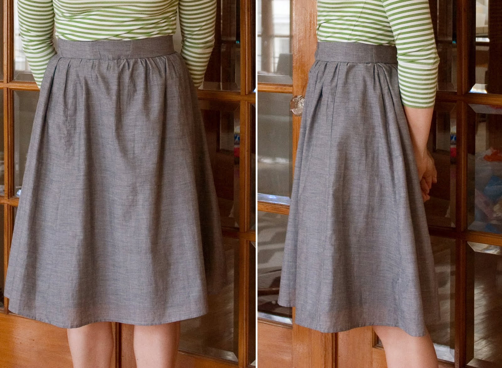 DIY: Making A Gathered Skirt with Band From an Old Elastic ...