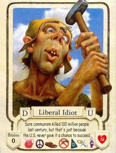 Hummers & Cigarettes: Liberal Idiot