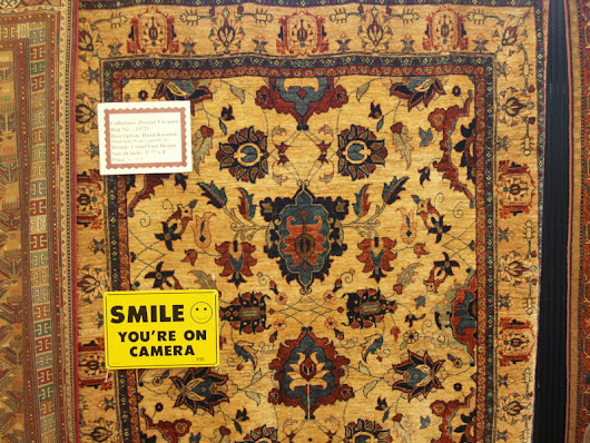 Rugs and Security: Smile; You're on Camera