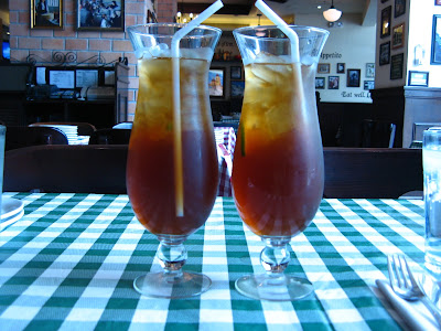 Italianni's iced tea