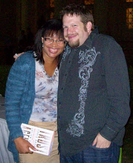 Annette with Chris Brogan