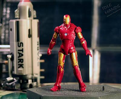 Idle Hands Iron Man 2 Action Figures Mark Iii