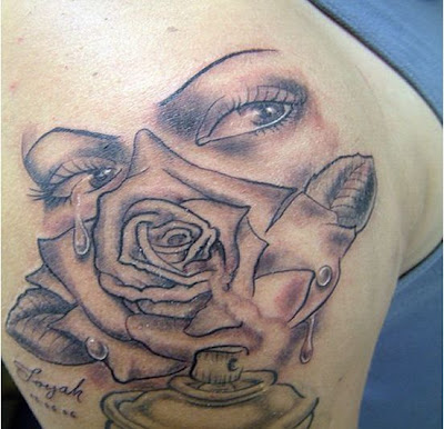 Tattoo Design Trend Eye And Rose Tattoo Real Eye Expressions