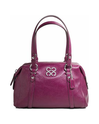 California Pizza Kitchen Tarzana: Celebrate Handbags: Britney Spears + COACH Julia Leather