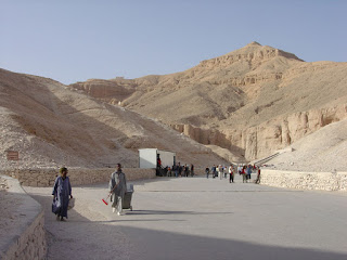 Valley of the Kings : known as the Biban Valley of Kings