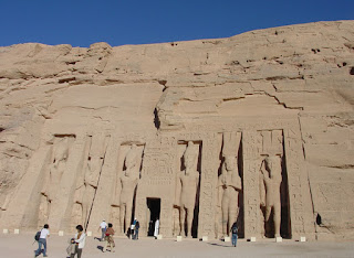Hathor temple : in honor of Ramses' great wife Nefertari