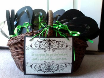 wedding ideas flip flop basket signature event rentals wedding trend flip flop baskets 28103