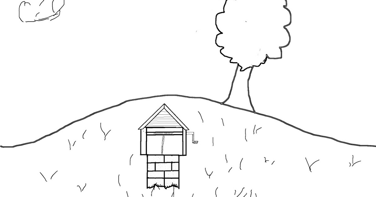 One tree hill coloring pages ~ Teaching myself to draw...: a hill for Cierra, coloring page