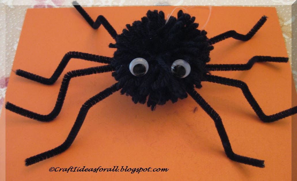 spooky craft ideas craft ideas for all spooky spider for 2986