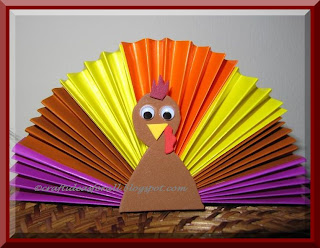 Turkey Can Craft Wind Sock