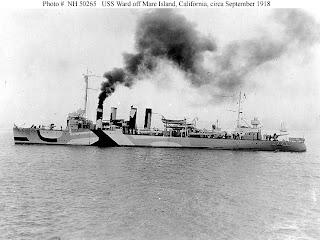 Naval Warfare Uss Ward Dd 139 Later Apd 16