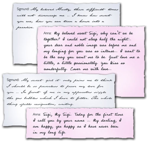 ... (ℳℛ.ĹŐVΞĹŶ) •٠·˙: Famous love letters