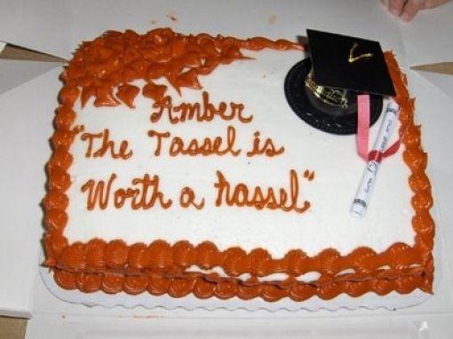 Funny Free Pics Strange Graduation Cakes