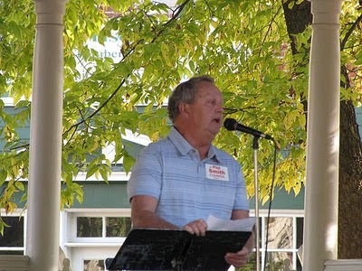 2010 Corydon Tea Party, Phil Smith for County Council District 1