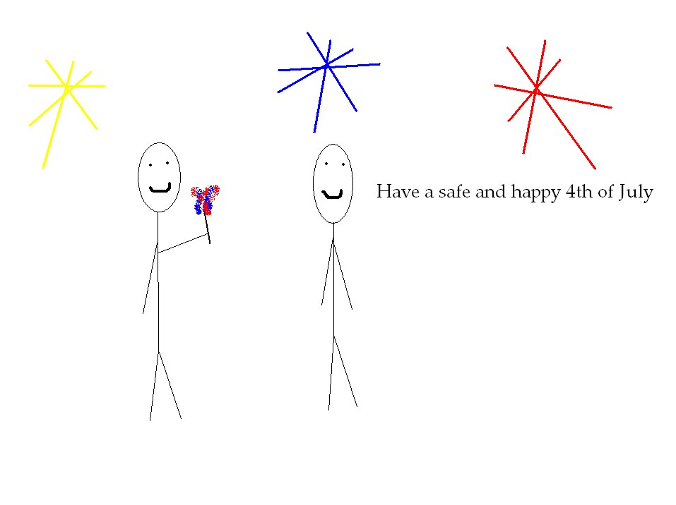 America: A History in Stick Figures: July 2010