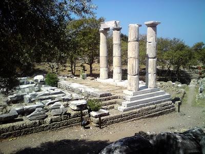 Αρχαιολογικός χώρος Παλαιάπολης Σαμοθράκης