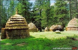 Παραδοσιακός Σαρακατσάνικος Οικισμός Λεπτοκαρυάς