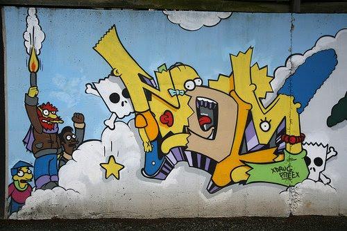 Crazy Graffiti Halloo