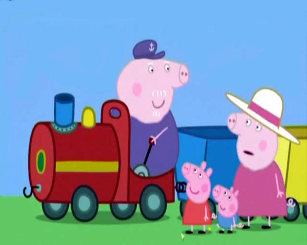 Online Kitchen Design Peppa Pig Family Halloo