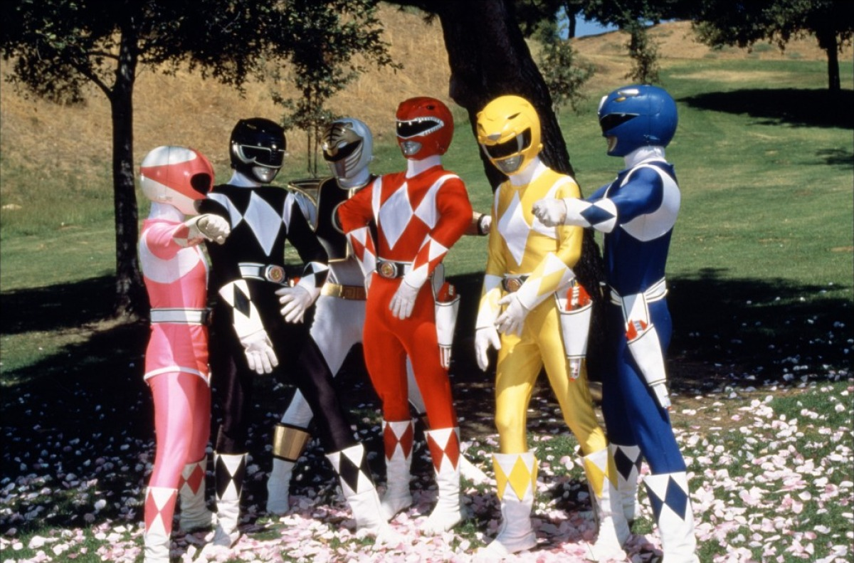 Power Rangers In America (On Set and Promos)