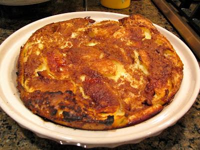 Rita S Recipes Baked Apple Pancake