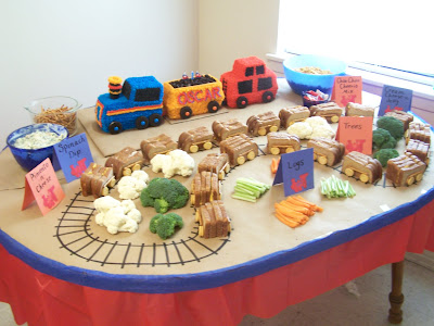 Food Ideas For Train Themed Birthday Party