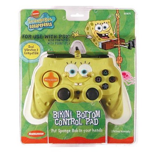 PlayStation Store: PS2 SpongeBob SquarePants Control Pad