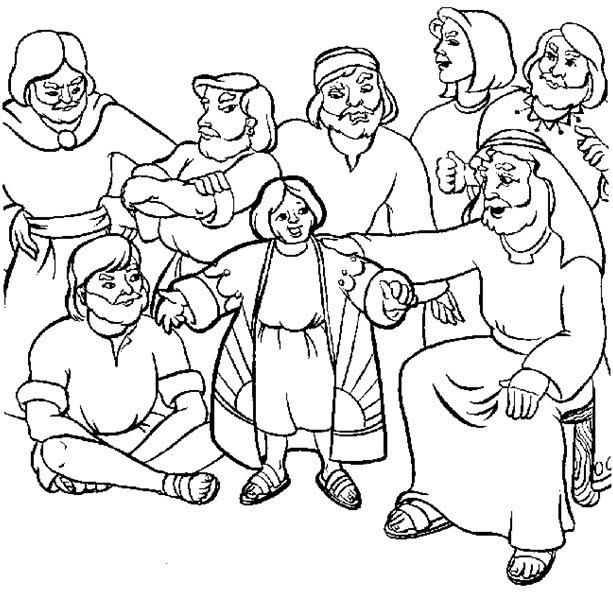 Sekolah Minggu Ceria Cerita Alkitab Yusuf dan Jubah Warna