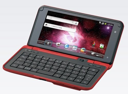 Android Smartphone: Sharp Lynx : Android tablet plus QWERTY