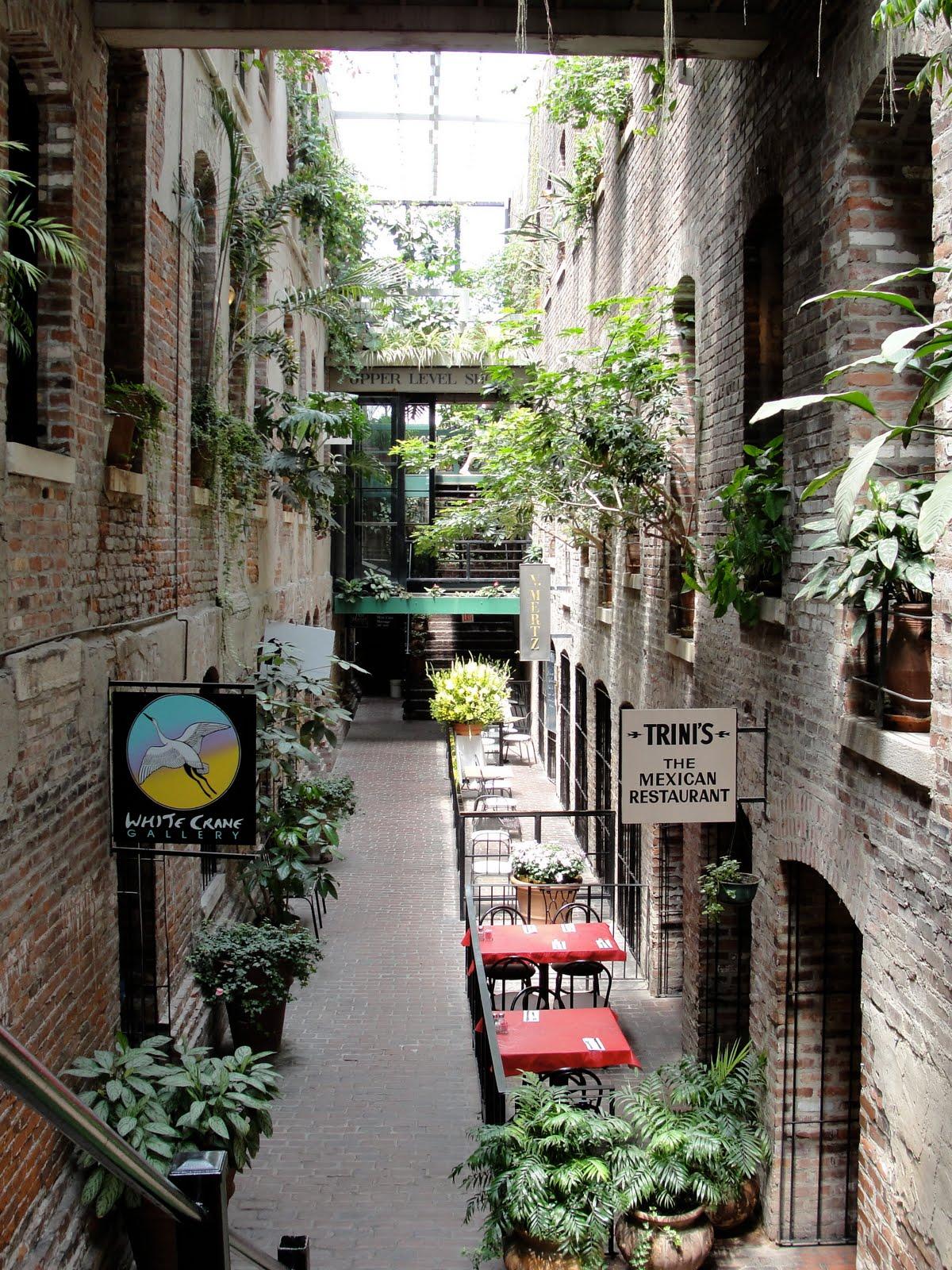 Old market passageway restaurants