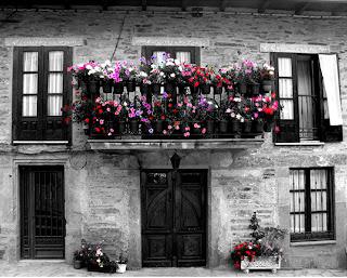 Balcones Con Flores Casa Haus Decoracion - Fotos-de-balcones-con-flores