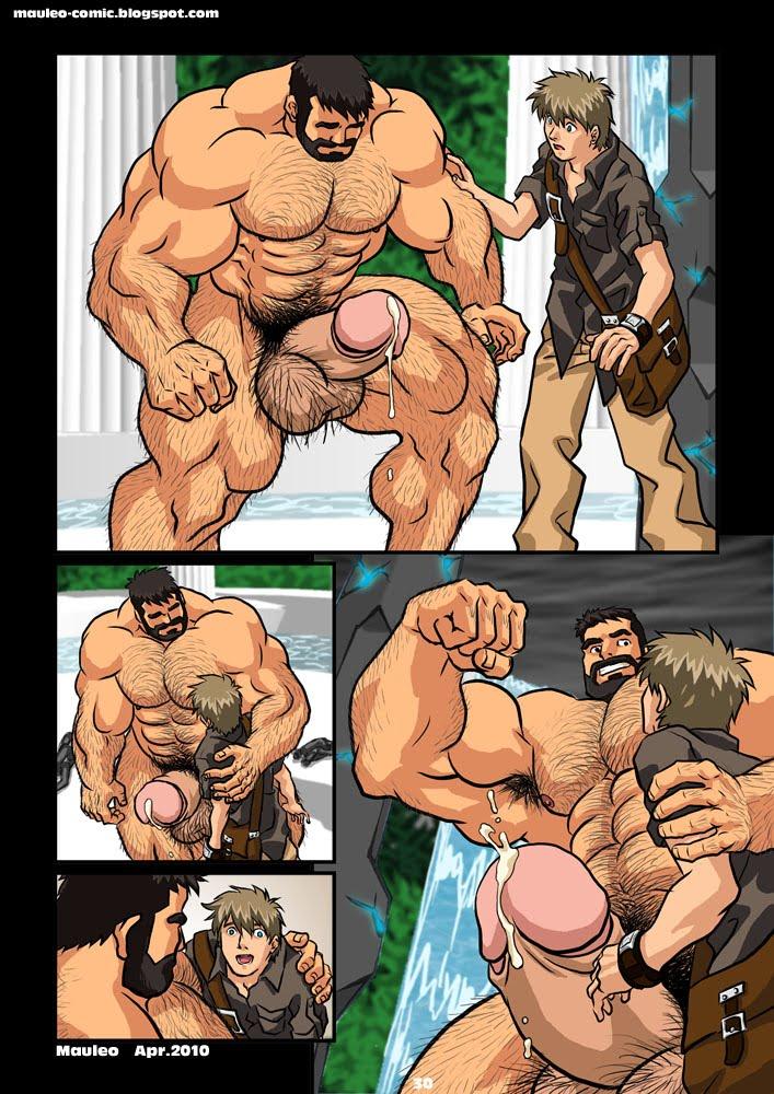 Комиксы геи порно