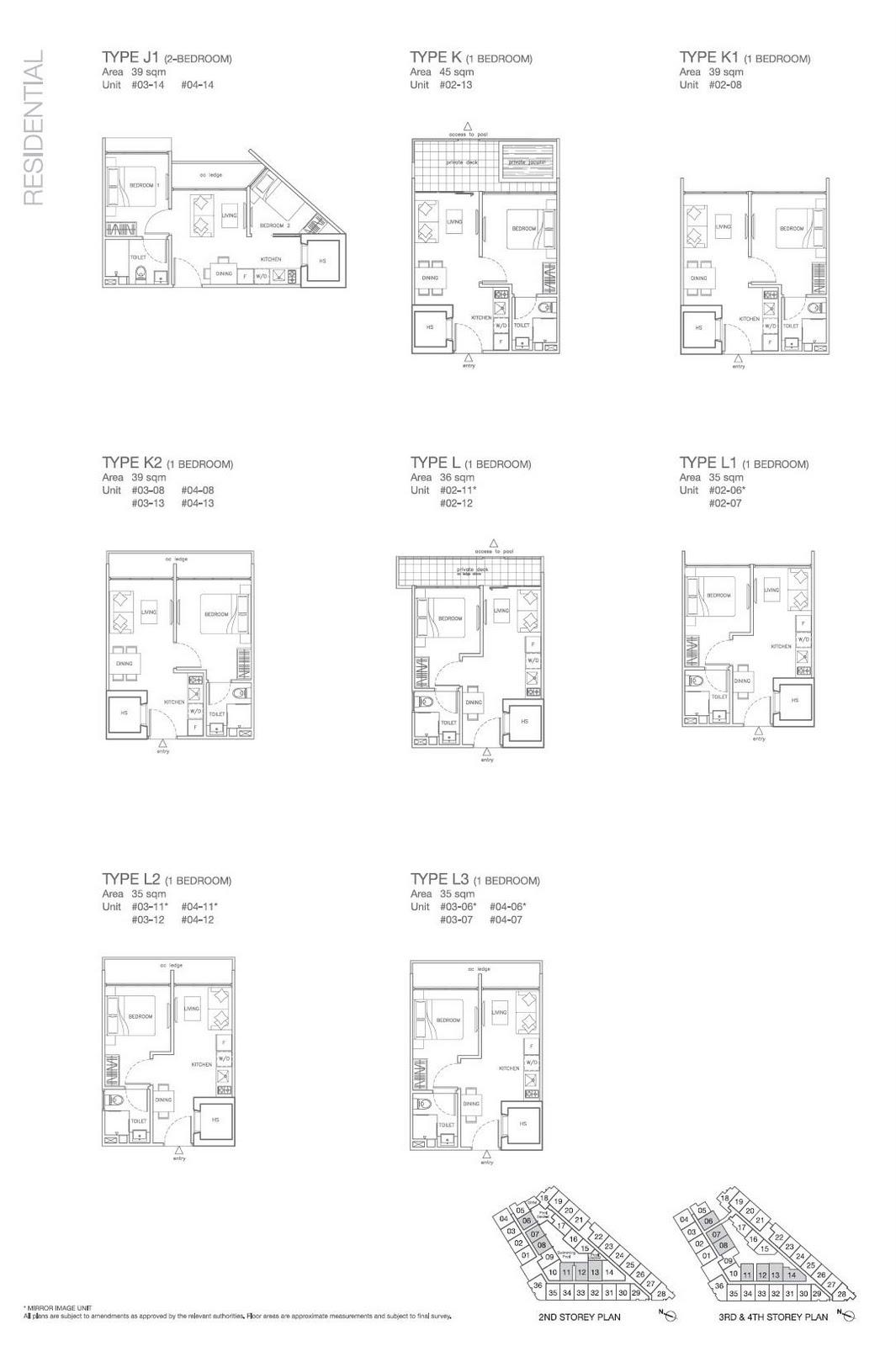 J1 K K1 K2 L L1 L2 L3 Floorplan