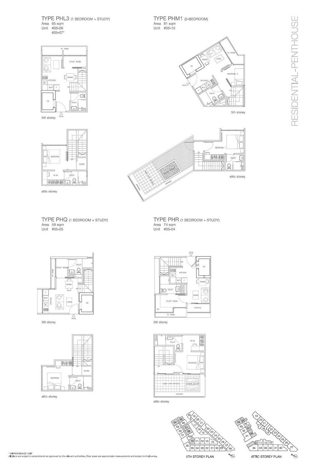 Phl3 Phm1 Phq Phr Floorplan