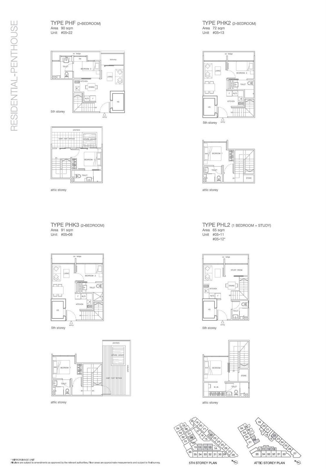 Phf Phk2 Phk3 Phl2 Floorplan