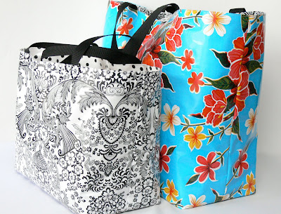 Rbt Bags Oilcloth Tote