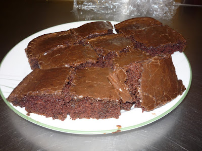 photo of texas brownies