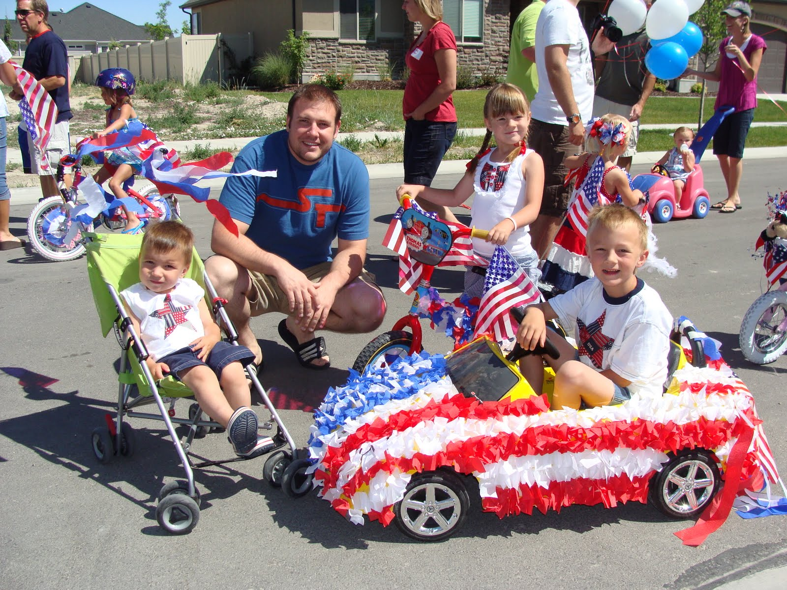 4th Of July Wagon Float Ideas | Party Invitations Ideas