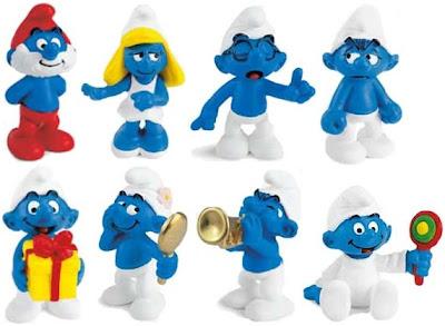 Smurf Toy Shop Singapore - Get rare Smurf figurines here