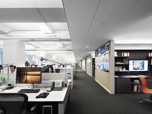 Cool DIY Workspace Interior Design by Kohn Pedersen ...