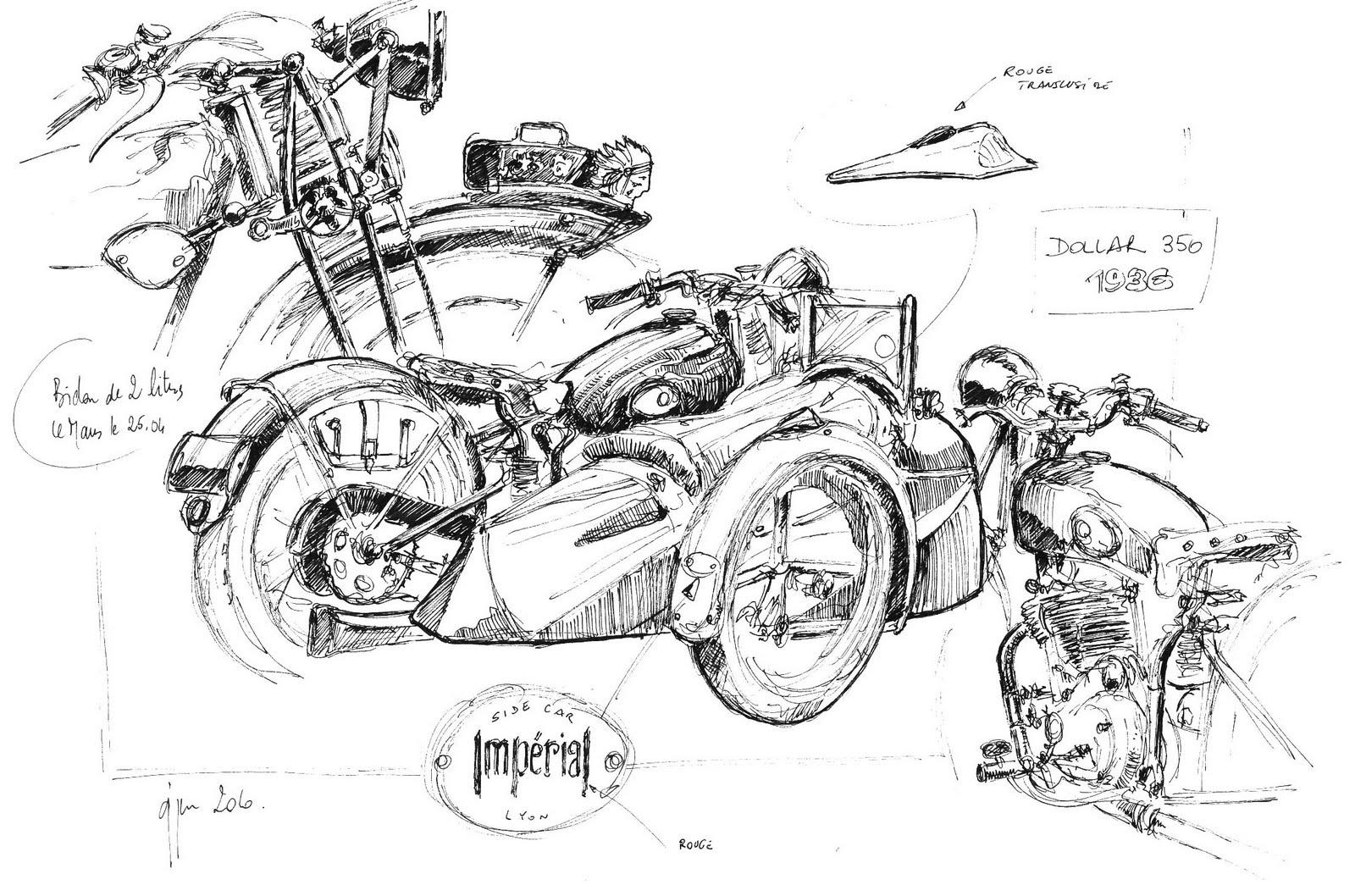 Harley Davidson Engine Art