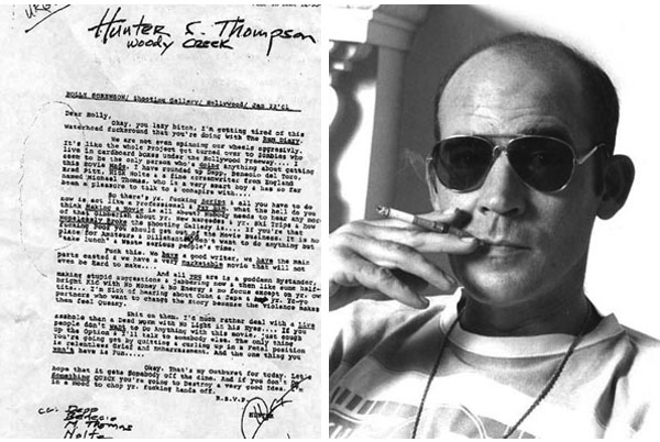 Hunter S Thompson  Fear and Loathing in America  Joana