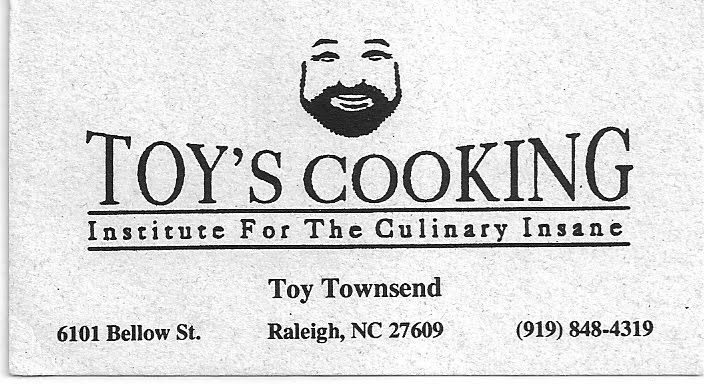 Imagine: Cooking with Toy ~ A Lesson in Good Eating