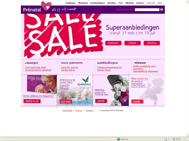 Prenatal webshop