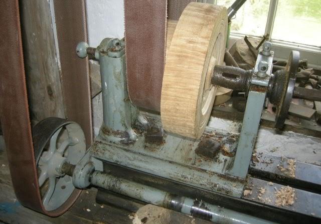 Wood Lathe Water Powered Oddball Wood Lathe