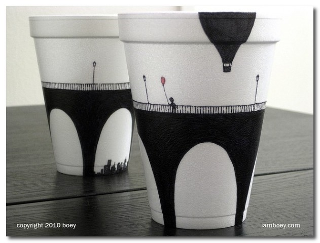Attractive designers block: The Thing You Can Do With Styrofoam Cups FL07