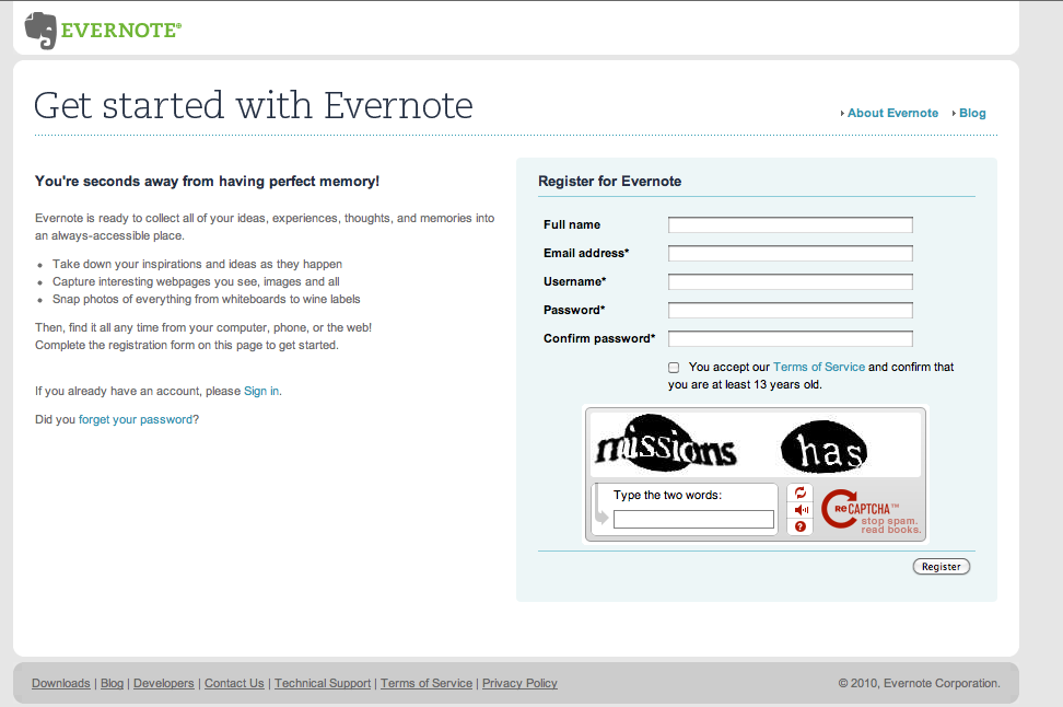 Evernote | The Nifty Tech Blog