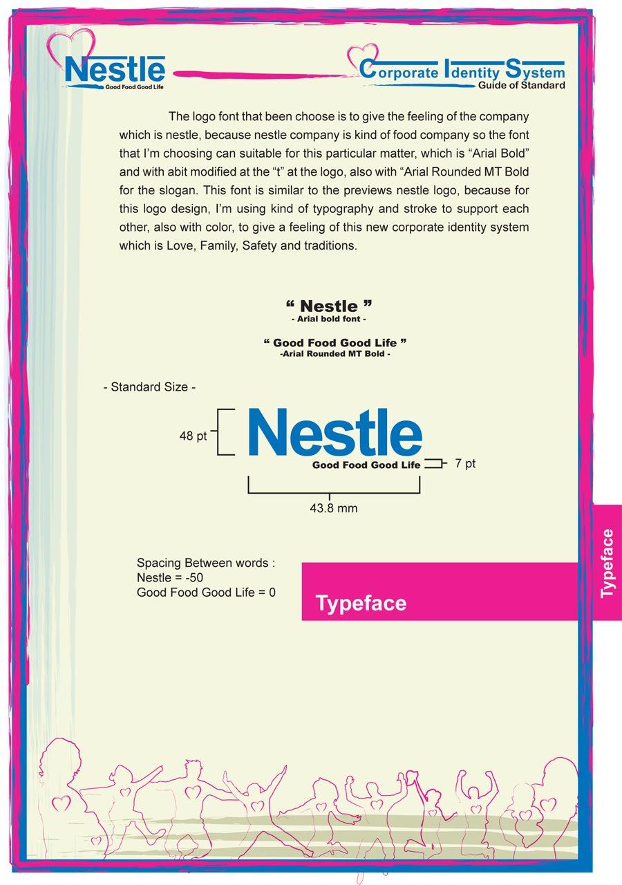 Kenny Lesmana ART Portfolio Blog Nestle Corporate Identity Set