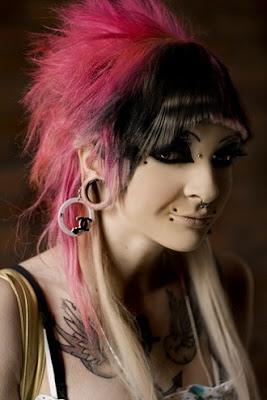 Tattoo Rank Hairstyles With Bangs For Girls