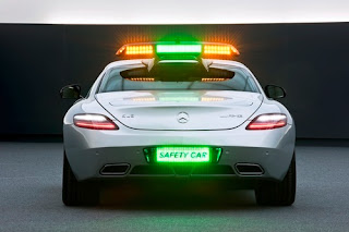 Tamerlane's Thoughts: 2010 F1 AMG SLS Safety Car